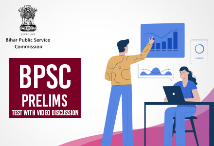 BPSC Prelims Test with video discussion
