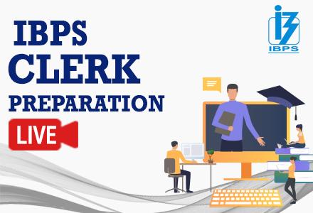 IBPS Clerk Prelims - Live Course