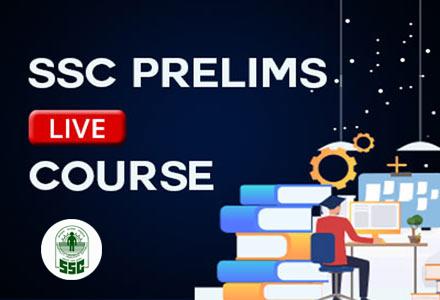 SSC Prelims - Live Course